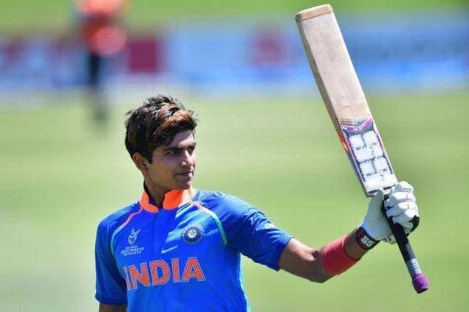 Shubman Gill was a very important player in India under-19 team success last year.