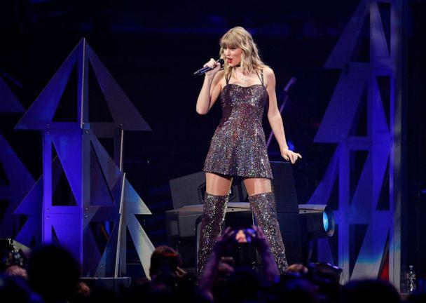 PHOTO: Taylor Swift performs during the iHeartRadio Jingle Ball concert at Madison Square Garden in New York, Dec. 13, 2019. (Caitlin Ochs/Reuters)
