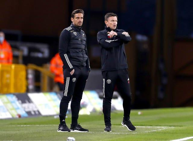 Sheffield United interim manager Paul Heckingbottom, right, wants clarity at the club