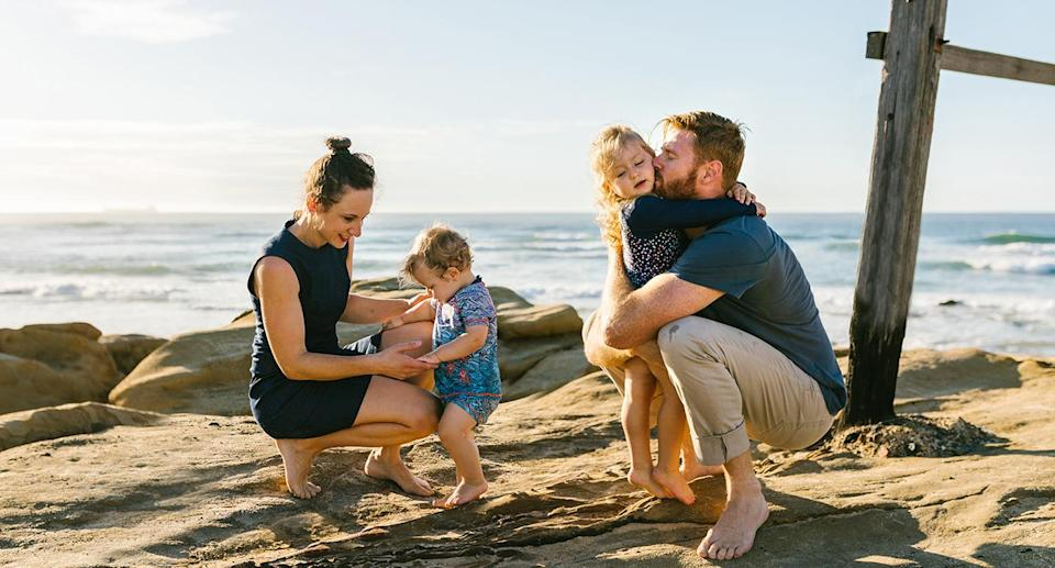 """Dr Dun has developed a research program following his young daughter's heartbreaking diagnosis. Source: <a href=""""https://littlekitephotography.com.au"""" rel=""""nofollow noopener"""" target=""""_blank"""" data-ylk=""""slk:Little Kite Photography"""" class=""""link rapid-noclick-resp"""">Little Kite Photography </a>"""