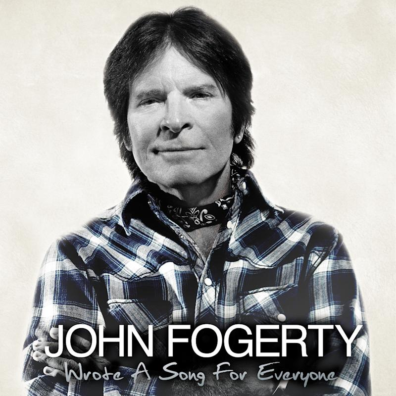 """This CD cover image released by Vanguard Records shows """"Wrote a Song for everyone,"""" by John Fogerty. (AP Photo/Vanguard Records)"""