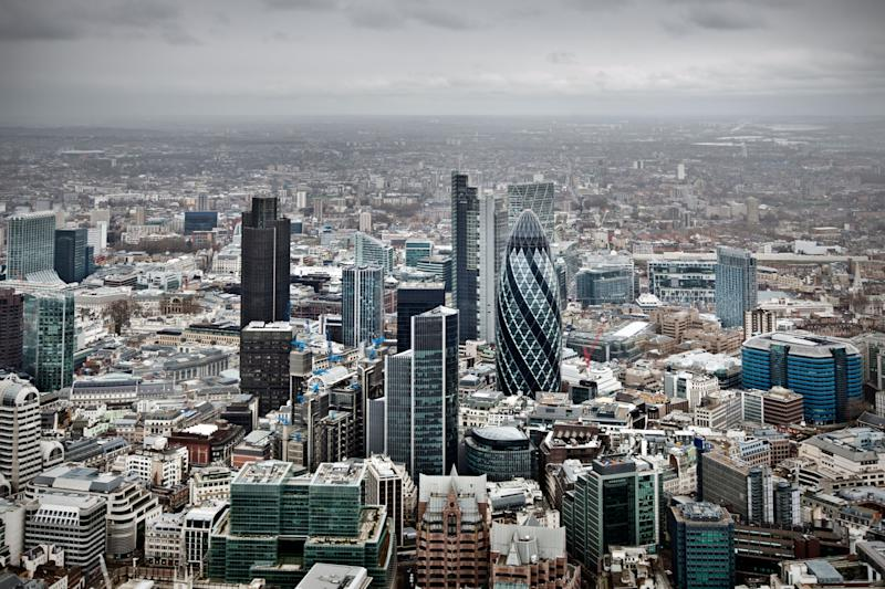 Aerial View of the City Of London - Credit: Alamy