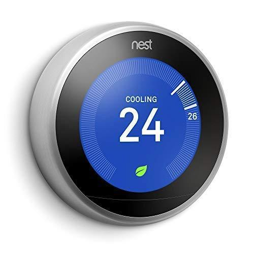 Google Nest Learning Thermostat - Programmable Smart Thermostat for Home - 3rd Generation Nest…