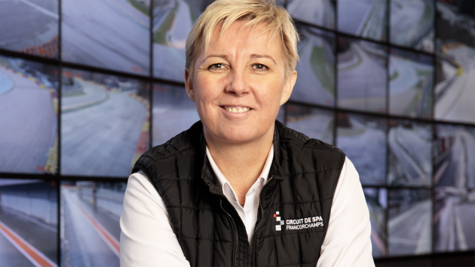Spa Franchorchamps CEO Nathalie Maillet is being mourned by the F1 and motorsport world after her tragic death earlier this week. Picture: Circuit de Spa Franchorchamps