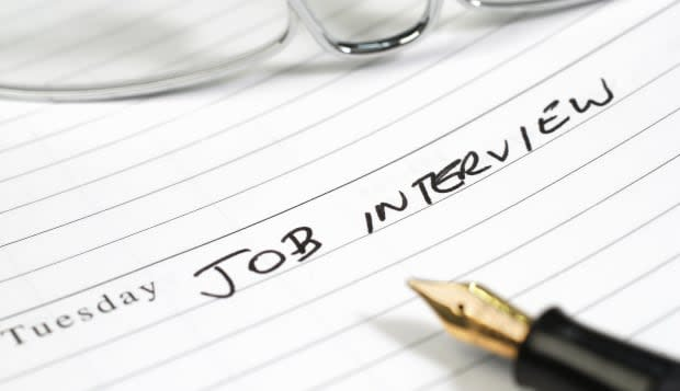 Diary entry for a job interview
