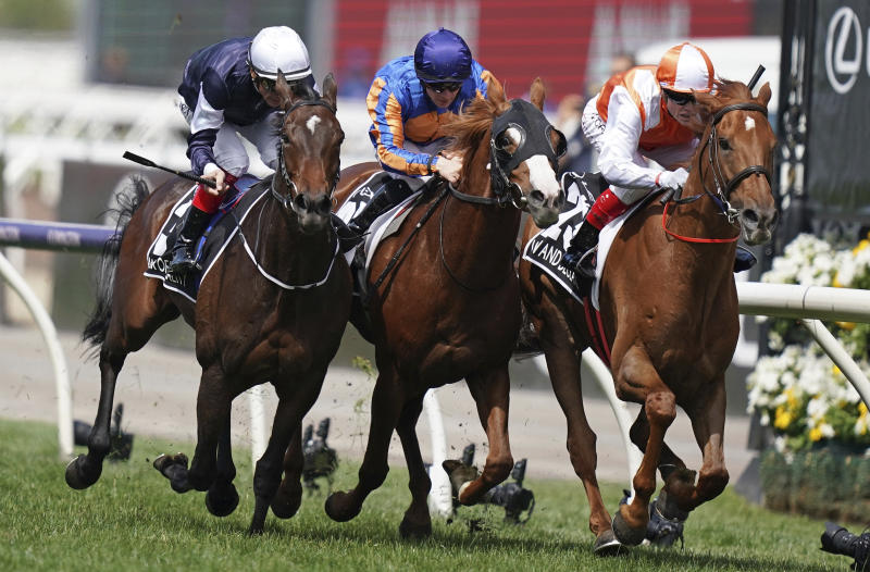 Australian-bred Vow and Declare wins Melbourne Cup