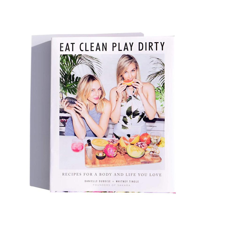"""<h2>Cookbook: Eat Clean, Play Dirty</h2><br>Discover the secrets of the Sakara lifestyle with this gorgeous cookbook — an easy way to continue eating the rainbow on your own time. <br><br><strong><em><a href=""""https://www.sakara.com/collections/clean-boutique"""" rel=""""nofollow noopener"""" target=""""_blank"""" data-ylk=""""slk:Shop Sakara Life"""" class=""""link rapid-noclick-resp"""">Shop Sakara Life</a></em></strong><br><br><strong>Sakara</strong> Cookbook: Eat Clean, Play Dirty, $, available at <a href=""""https://go.skimresources.com/?id=30283X879131&url=https%3A%2F%2Fwww.sakara.com%2Fproducts%2Fcookbook-eat-clean-play-dirty"""" rel=""""nofollow noopener"""" target=""""_blank"""" data-ylk=""""slk:Sakara"""" class=""""link rapid-noclick-resp"""">Sakara</a>"""