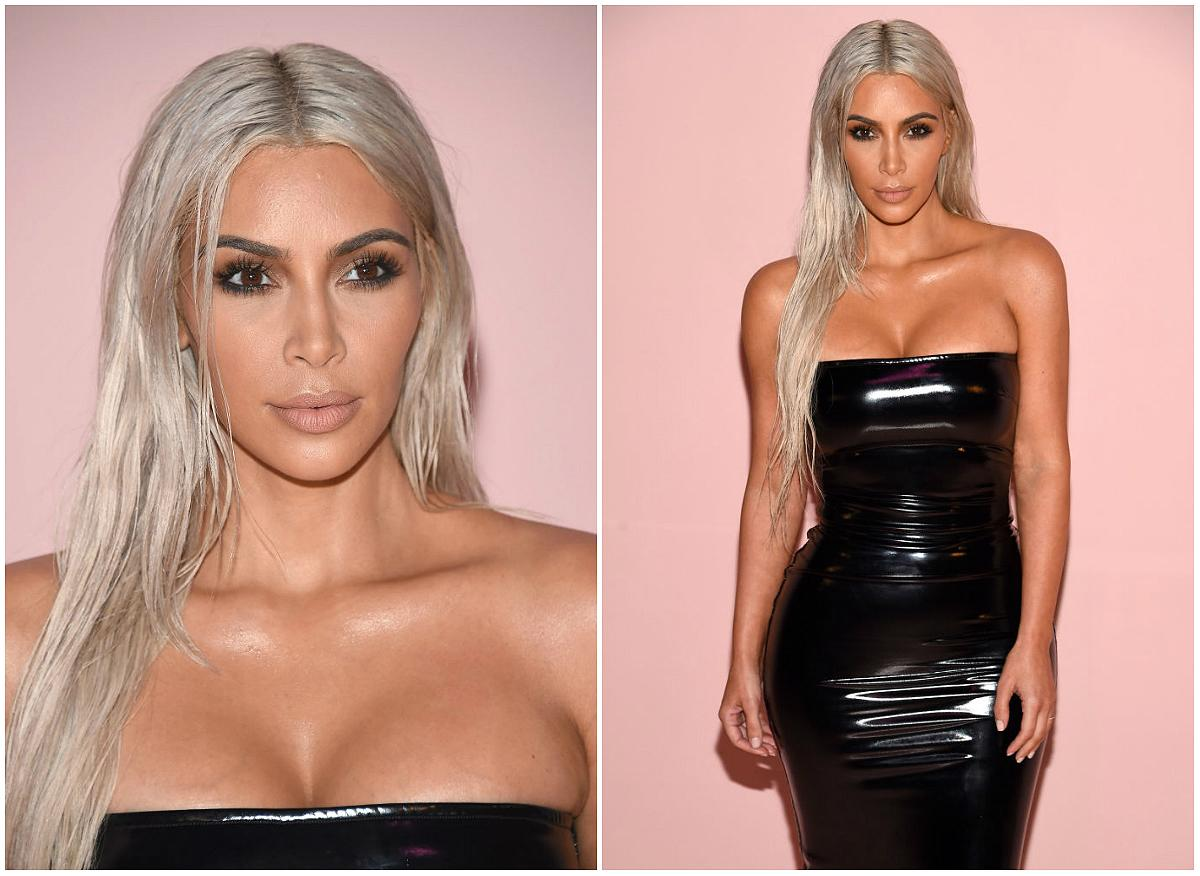 "<p><strong>When: Sept. 6, 2017</strong><br />Kim Kardashian went blonde (again) — and more than a few are suggesting she's twinning ""Game of Thrones"" character <a rel=""nofollow"" href=""https://ca.style.yahoo.com/everyone-freaking-daenerys-targaryens-chic-fur-coat-game-thrones-160333063.html"">Daenerys Targaryen </a>with her waist-length silver blonde tresses! She debuted the new 'do while showing off her Marilyn Monroe-like curves in a skin-tight black latex dress at New York Fashion week on Wednesday night. Are you a fan of the blonde or do you hope she'll reach for her brunette hair dye? <em>(Photo: Getty)</em> </p>"