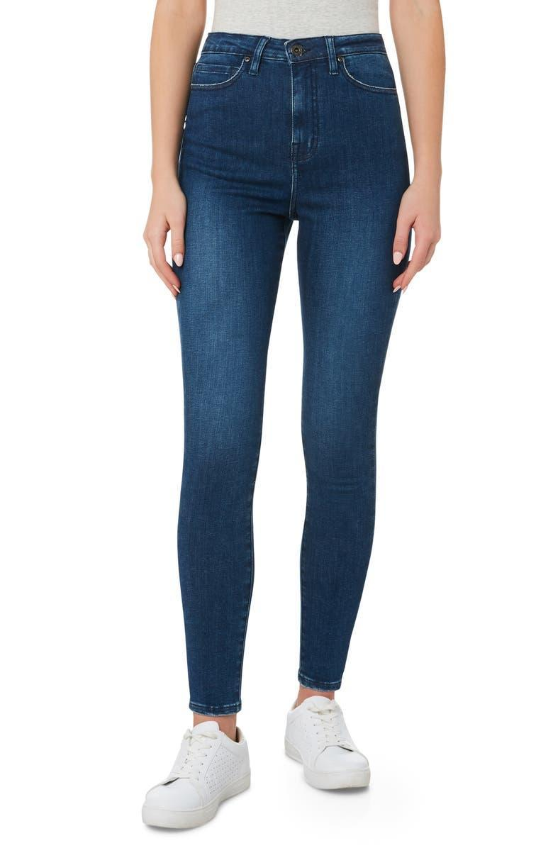 """<h2>Outland Denim</h2><br>Not only has this Australian denim imprint painstakingly outlined its <a href=""""https://www.outlanddenim.com/blogs/news/outland-denim-sustainability-report-2020"""" rel=""""nofollow noopener"""" target=""""_blank"""" data-ylk=""""slk:sustainability goals and admirable current achievements"""" class=""""link rapid-noclick-resp"""">sustainability goals and admirable current achievements</a>; they also provide employment, training, and a healthy work-life balance to their at-risk global workforce. In 2019, they were singled out by <a href=""""https://bcorporation.net/2019-best-for-the-world"""" rel=""""nofollow noopener"""" target=""""_blank"""" data-ylk=""""slk:B Corporation as a """"Best for the World"""" honoree"""" class=""""link rapid-noclick-resp"""">B Corporation as a """"Best for the World"""" honoree</a>.<br><br><em>Shop <strong><a href=""""https://www.nordstrom.com/browse/women/clothing/filter/outland-denim~brand_20946"""" rel=""""nofollow noopener"""" target=""""_blank"""" data-ylk=""""slk:Outland Denim"""" class=""""link rapid-noclick-resp"""">Outland Denim</a></strong> at Nordstrom</em><br><br><strong>Outland Denim</strong> Harriet Organic Cotton Blend Skinny Jeans, $, available at <a href=""""https://go.skimresources.com/?id=30283X879131&url=https%3A%2F%2Fwww.nordstrom.com%2Fs%2Foutland-denim-harriet-organic-cotton-blend-skinny-jeans-dazed%2F5566015"""" rel=""""nofollow noopener"""" target=""""_blank"""" data-ylk=""""slk:Nordstrom"""" class=""""link rapid-noclick-resp"""">Nordstrom</a>"""