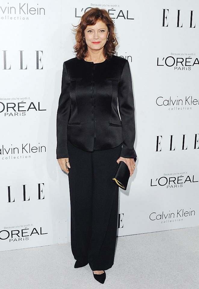 BEVERLY HILLS, CA - OCTOBER 15:  Actress Susan Sarandon arrives at the 19th Annual ELLE Women In Hollywood Celebration at the Four Seasons Hotel Los Angeles at Beverly Hills on October 15, 2012 in Beverly Hills, California.  (Photo by Jon Kopaloff/FilmMagic)