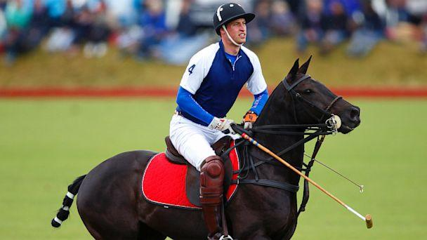 Prince William to Play Polo While Nine-Months-Pregnant Kate Waits