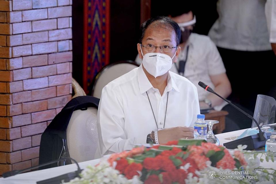 Presidential Adviser on Peace Process and National Task Force against Coronavirus Disease-2019 (NTF COVID-19) chief implementer Carlito Galvez Jr. (KING RODRIGUEZ/ PRESIDENTIAL PHOTO)