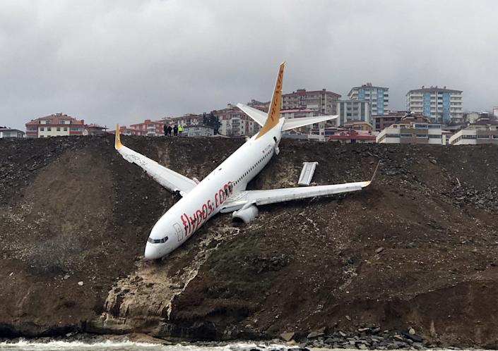 Pegasus Airlines is a Turkish low-cost airline with headquarters in Istanbul. (Photo: Anadolu Agency/Getty Images)
