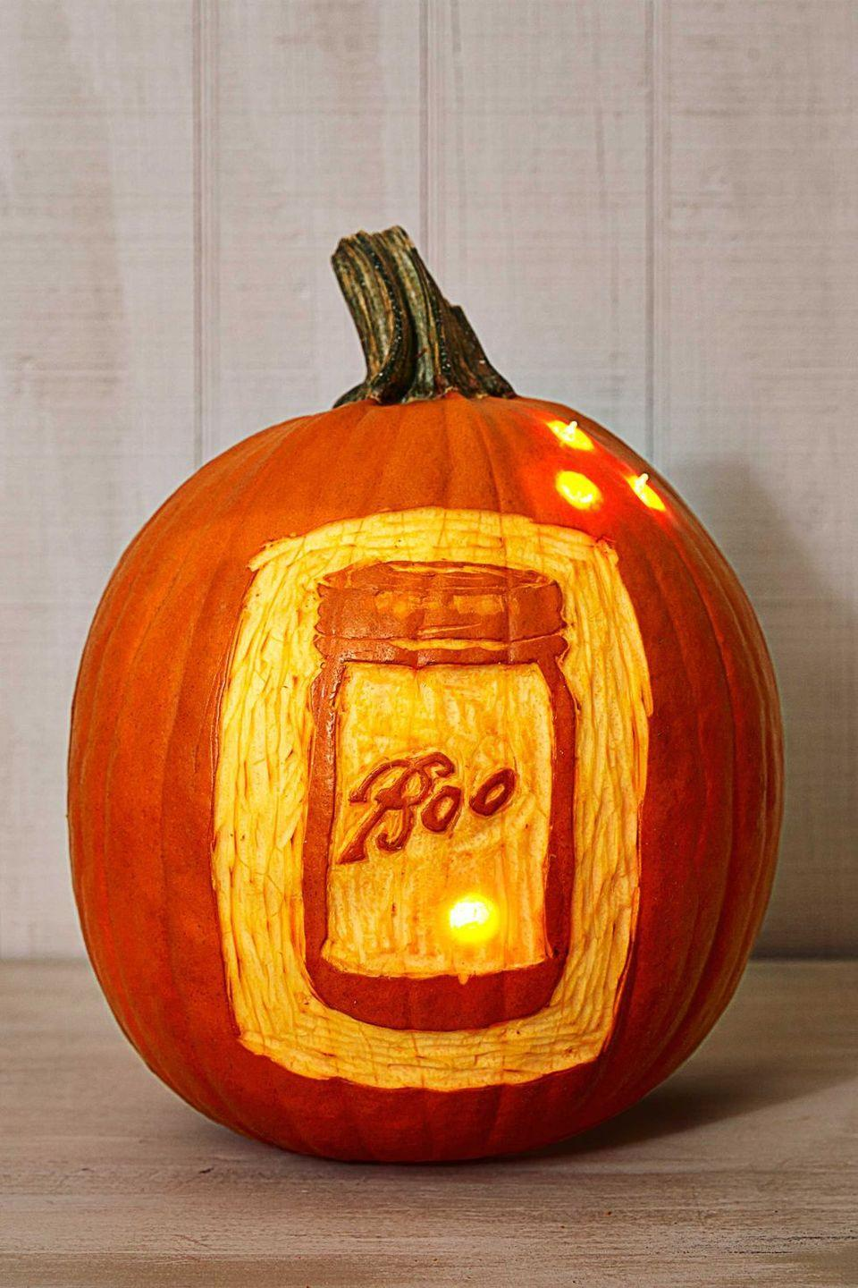 """<p>Pay homageto your favorite kitchen accessory with this dreamy design. Transfer paper and a downloadable template make it easy. </p><p><strong>Get the tutorial at <a href=""""https://www.countryliving.com/diy-crafts/g279/pumpkin-carving-ideas/?slide=28"""" rel=""""nofollow noopener"""" target=""""_blank"""" data-ylk=""""slk:Country Living"""" class=""""link rapid-noclick-resp"""">Country Living</a>.</strong></p><p><strong><a class=""""link rapid-noclick-resp"""" href=""""https://go.redirectingat.com?id=74968X1596630&url=https%3A%2F%2Fwww.walmart.com%2Fsearch%2F%3Fquery%3Dtransfer%2Bpaper&sref=https%3A%2F%2Fwww.thepioneerwoman.com%2Fhome-lifestyle%2Fcrafts-diy%2Fg36982763%2Fpumpkin-carving-ideas%2F"""" rel=""""nofollow noopener"""" target=""""_blank"""" data-ylk=""""slk:SHOP TRANSFER PAPER"""">SHOP TRANSFER PAPER</a><br></strong></p>"""