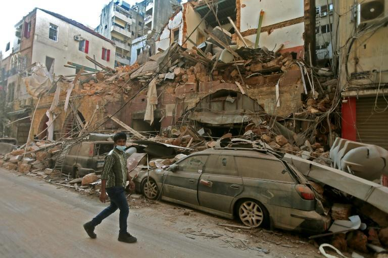 The blast that tore through Lebanon's capital Beirut on August 4 caused catastrophic destruction across huge areas of the city
