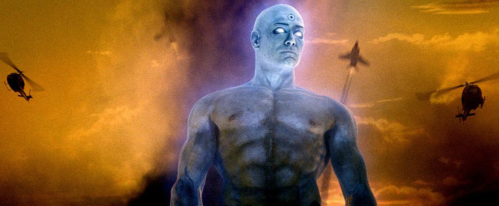 """DR. MANHATTAN<br>""""<a href=""""http://movies.yahoo.com/movie/1808406490/info"""">Watchmen""""</a><br>Grade: B+ <br> Going au natural is always in style, especially when you're blue, buff, and radioactive."""