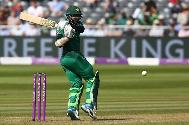 Pulling power: Pakistan's Imam-ul-Haq made a career-best 151 in a losing cause (AFP Photo/GEOFF CADDICK)