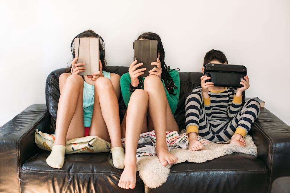 The pandemic has increased screen time for millions of children (Posed by models, Getty Images)