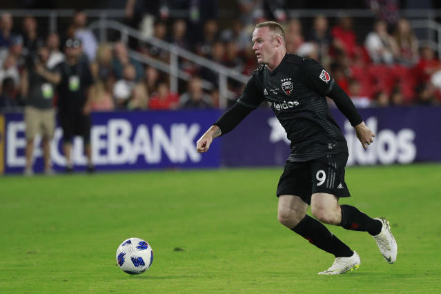 Wayne Rooney was named D.C. United's team captain on Friday, just three games into his MLS career. (Getty Images)