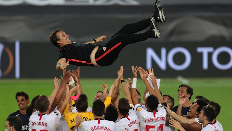 'Our team never surrenders!' - Sevilla boss Lopetegui delighted after 'very special' Europa League triumph