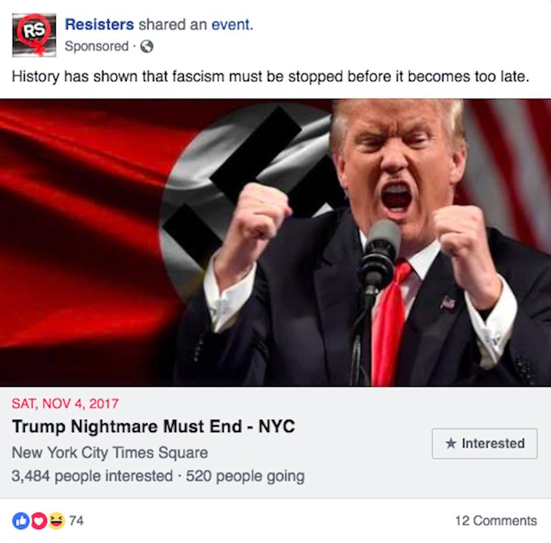 facebook trump fake ad