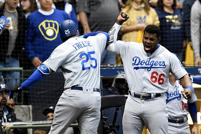 The Los Angeles Dodgers are returning to the World Series after defeating the Milwaukee Brewers in NLCS Game 7. (Getty Images)