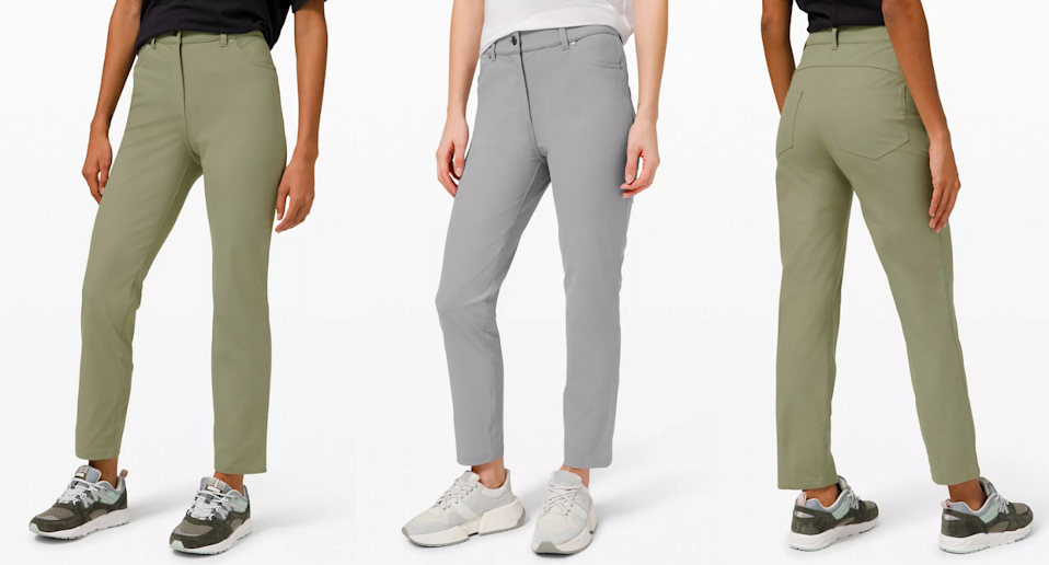 These fan-favourite pants have just been added to Lululemon's We Made Too Much Section.
