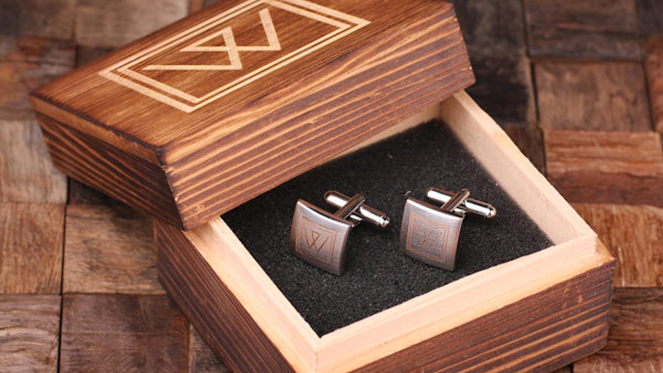 Best gifts for dads: Custom Cuff Links