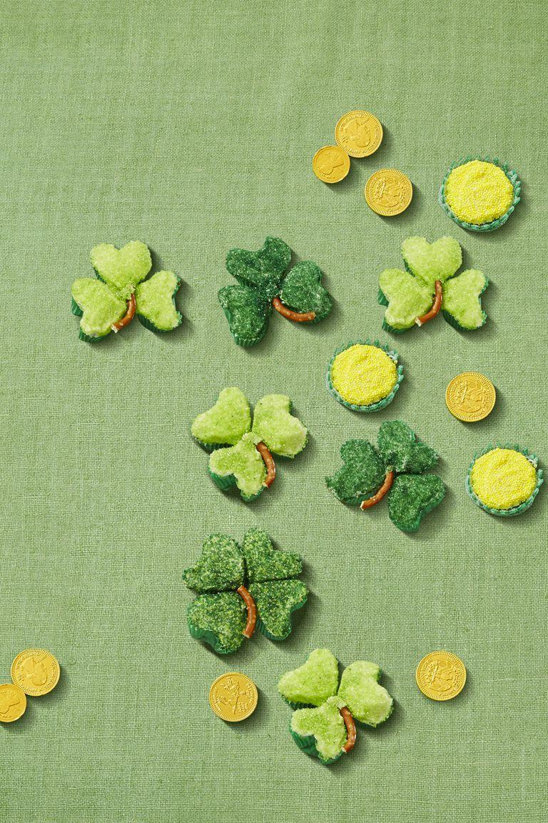 """<p>A craft that doubles as a tasty <a href=""""https://www.womansday.com/food-recipes/food-drinks/recipes/a39927/leprechaun-chow-recipe-ghk0314/"""" rel=""""nofollow noopener"""" target=""""_blank"""" data-ylk=""""slk:St. Paddy's Day treat"""" class=""""link rapid-noclick-resp"""">St. Paddy's Day treat</a>. What more could you possibly want from a fun, festive activity? </p><p><em><a href=""""https://www.womansday.com/food-recipes/a57793/shamrock-clover-cupcakes/"""" rel=""""nofollow noopener"""" target=""""_blank"""" data-ylk=""""slk:Get the Shamrock Cupcakes tutorial."""" class=""""link rapid-noclick-resp"""">Get the Shamrock Cupcakes tutorial.</a></em></p>"""