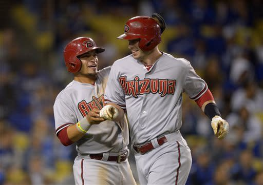 Goldschmidt's HR in 9th lifts D-backs over Dodgers