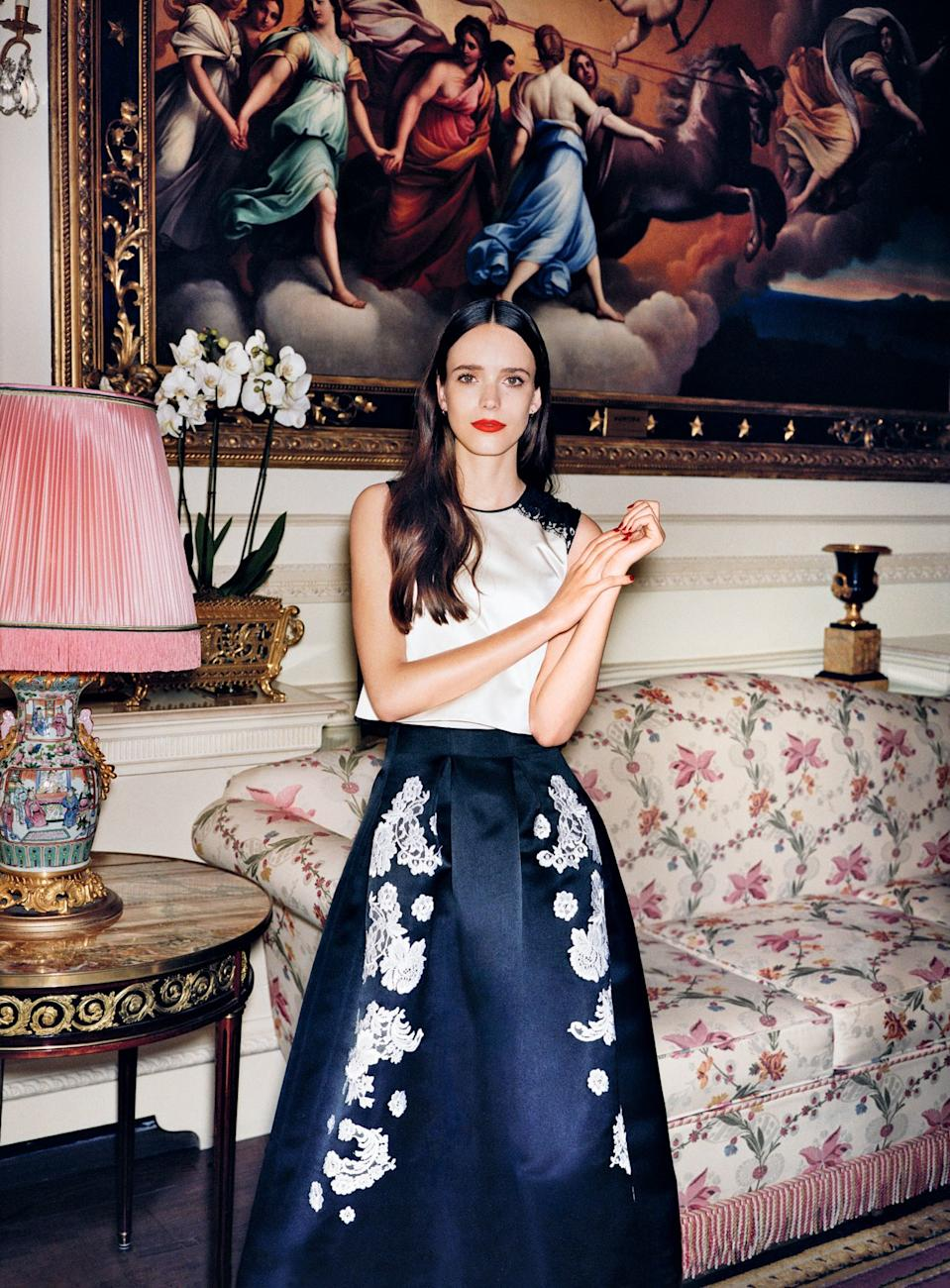 """<h1 class=""""title"""">Stacy Martin</h1><cite class=""""credit"""">Photographed by Angelo Pennetta, <em>Vogue</em>, October 2015</cite>"""