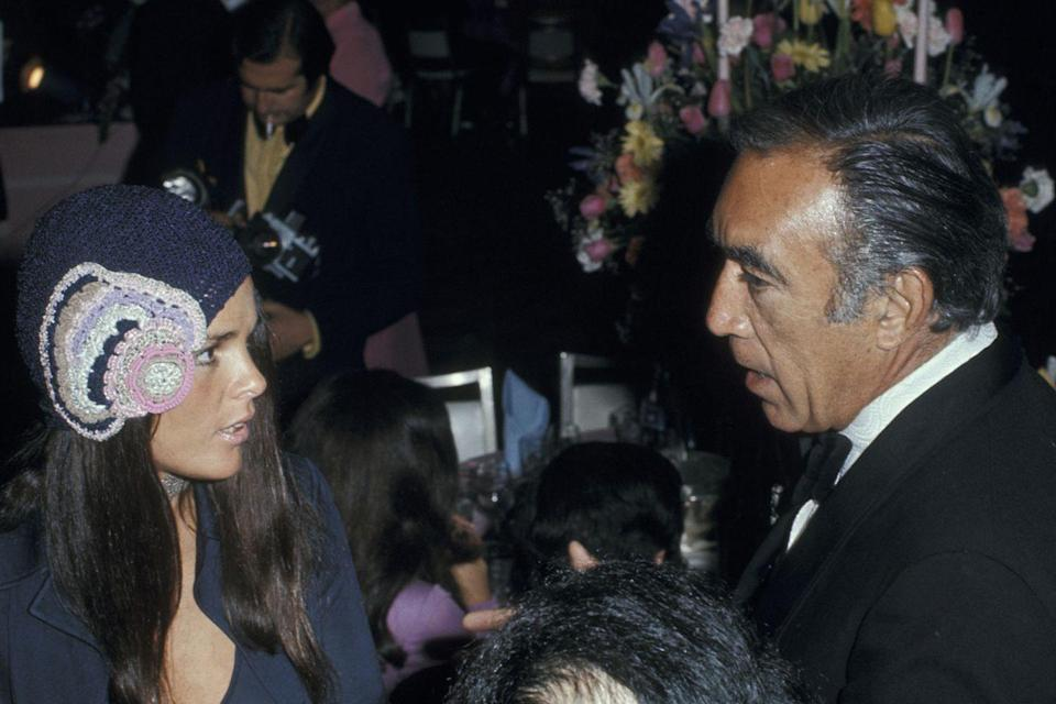 "<p>Best Actress nominee Ali MacGraw chatted up Anthony Quinn at the ceremony, where <em><a href=""https://www.amazon.com/Patton-Frank-Latimore/dp/B004DBU0UW?tag=syn-yahoo-20&ascsubtag=%5Bartid%7C10055.g.5132%5Bsrc%7Cyahoo-us"" rel=""nofollow noopener"" target=""_blank"" data-ylk=""slk:Patton"" class=""link rapid-noclick-resp"">Patton</a></em> took home Best Picture, Best Director, Best Actor, and Best Screenplay. George C. Scott declined his Best Actor trophy because he didn't feel he was in competition with other actors. </p>"