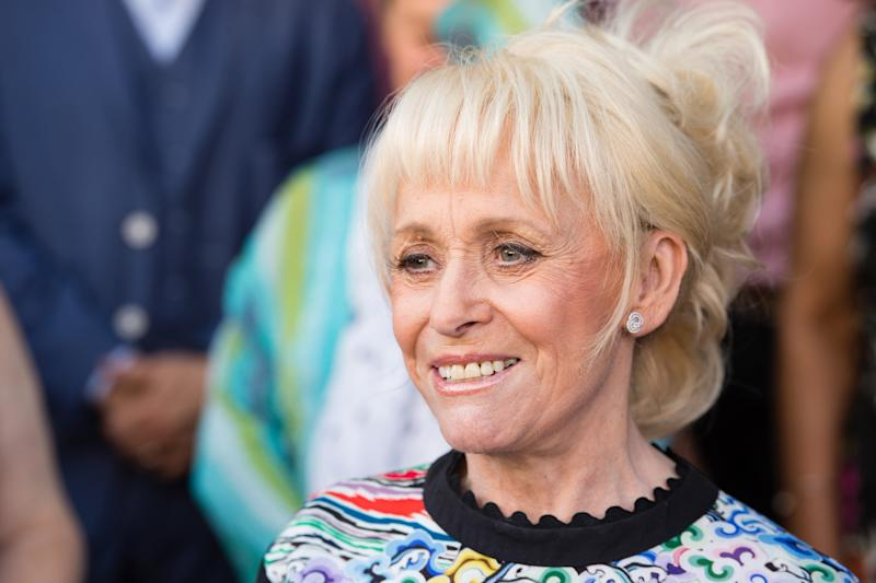 LONDON, ENGLAND - MAY 25: Barbara Windsor attends the inauguration of the Hackney Empire Walk Of Fame on May 25, 2017 in London, England. The EastEnders and Carry On films actress has been included in a 'recognition plate' on Hackney Empire's pavement together with Frank Matcham and Sir Oswald Stoll. (Photo by Jeff Spicer/Getty Images)