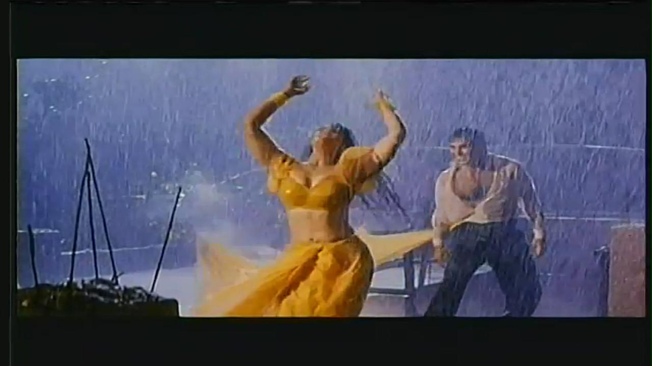<p>This is Bollywood's answer to Emma Watson's Yellow gown from Beauty and the Beast – and we did it two decades ago. The drenched saree draped against a very sexy Raveena sure took the Police Officer out of Akshay Kumar that night. Remember that one scene when the saree gets stuck into Akshay's shirt – how? Because if the saree wills, the saree can. </p>