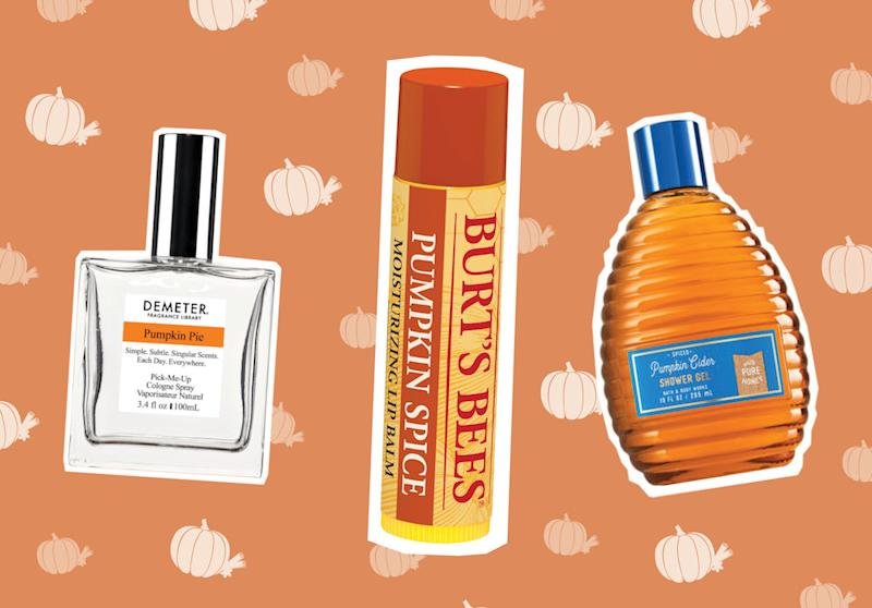 Get into the fall spirit with these pumpkin spice latte-inspired beauty products