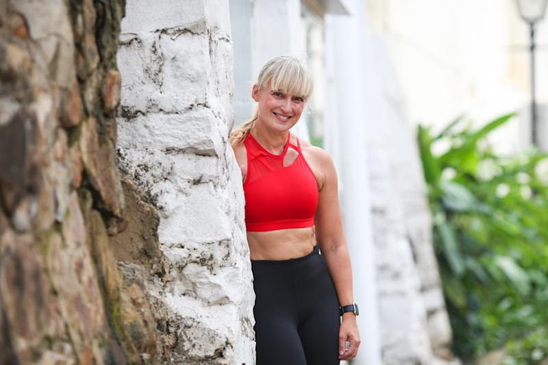 Singapore #Fitspo of the Week: Wendy Riddell (PHOTO: Cheryl Tay)