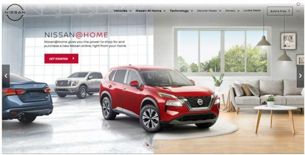 PHOTO: Nissan is launching Nissan@Home, a complete online shopping program for customers who do not want to travel to a Nissan dealership. (Nissan)