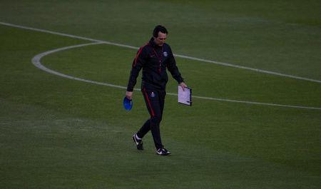 Football Soccer - Paris St Germain training session - UEFA Champions League