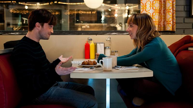 Daniel Radcliffe and Zoe Kazan in What If