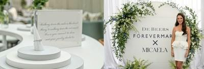 De Beers Forevermark Hosts Bridal Celebration in honor of Micaela Erlanger and the Forevermark x Micaela Collection
