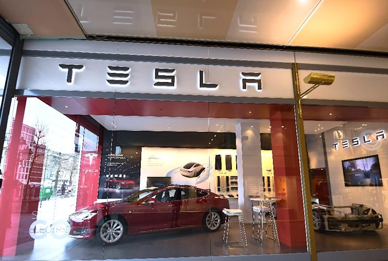 Tesla has poured about 750,000 euros ($925,000) into Greece, which is slowly recovering from a long, painful recession (AFP Photo/Emmanuel DUNAND)