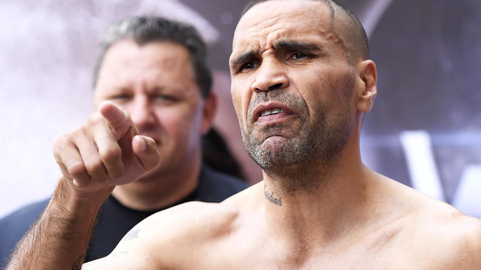 Anthony Mundine has vowed to restore his standing in the boxing world with a win over Michael Zerafa. (Photo by Albert Perez/Getty Images)