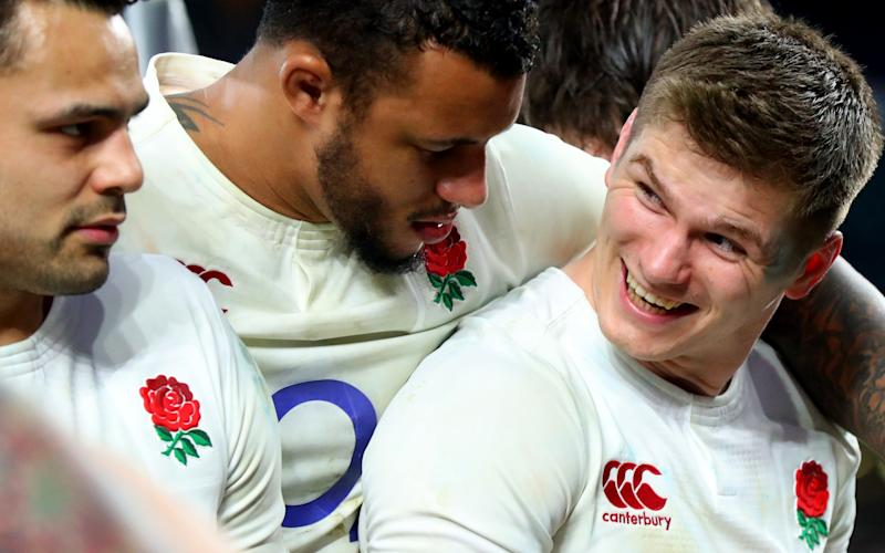 Owen Farrell will be key to England fortunes - Copyright (c) 2017 Rex Features. No use without permission.