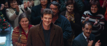 <p>Tracking down the love of his life was a job that required the whole town. In one of the most endearing and concluding scenes of <em>Love Actually</em>, Colin Firth's character takes a chance on love and proposes to Aurelia at the restaurant where she worked in Portugal in front of all of her friends and family.</p>