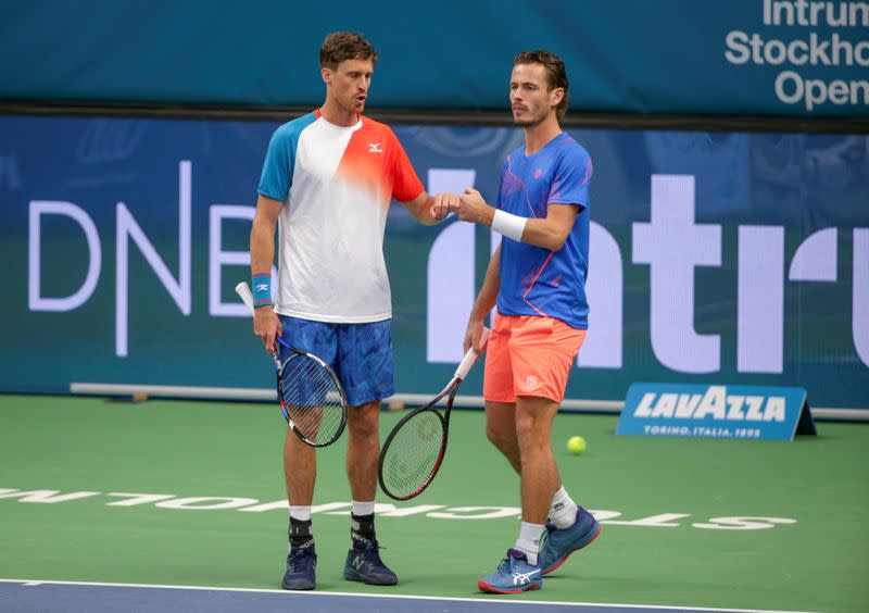 FILE PHOTO: ATP 250 - Stockholm Open - Men's Doubles Final