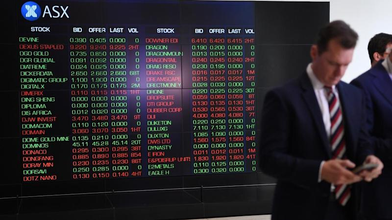 US MARKETS FALL AUSTRALIAN REAX