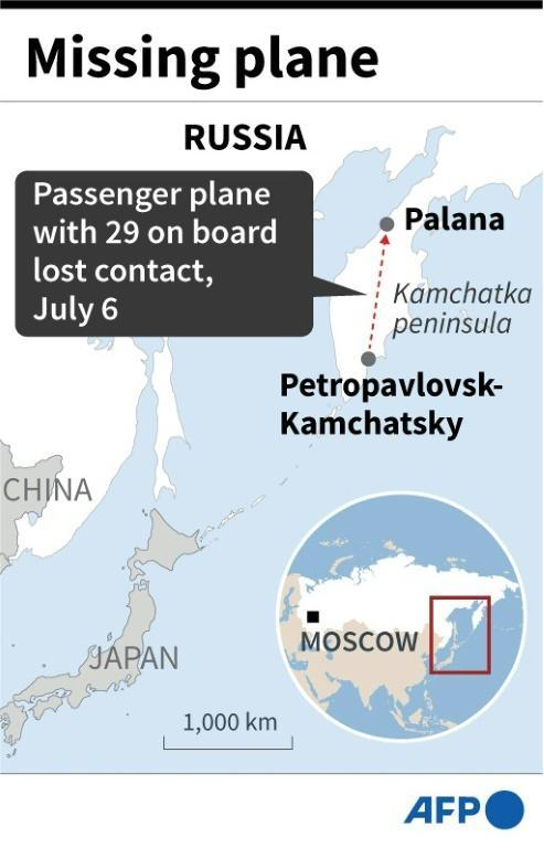 Russia missing plane