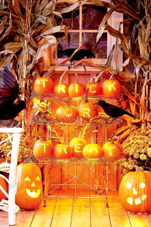 "<p>The only thing that's almost as fun as dressing in a <a href=""https://www.goodhousekeeping.com/holidays/halloween-ideas/g2750/easy-last-minute-halloween-costumes-diy/"" rel=""nofollow noopener"" target=""_blank"" data-ylk=""slk:Halloween costume"" class=""link rapid-noclick-resp"">Halloween costume</a> is decorating the outside of your house for the holiday. Unlike those other holidays that tend to draw in the same old crowd (that is, your family and loved ones), Halloween is the rare tradition that brings new people to your door. That means it's time to shine for the whole neighborhood by busting out the over-the-top decorations that show your Halloween spirit and give your trick-or-treaters something to smile about (or cower in fear of) as they step up to your doorstep on the spookiest night of the year. </p><p>When it comes to Halloween, there are several ways to decorate in style. You have your standard cobwebs and <a href=""https://www.goodhousekeeping.com/holidays/halloween-ideas/g238/pumpkin-carving-ideas/"" rel=""nofollow noopener"" target=""_blank"" data-ylk=""slk:jack-o-lanterns"" class=""link rapid-noclick-resp"">jack-o-lanterns</a>, sure. But why stop there? Whether you want to go for the full haunted house experience, give your front yard a cemetery aesthetic with tombstones and ghosts, cover your stoop in <a href=""https://www.goodhousekeeping.com/holidays/halloween-ideas/how-to/a35075/how-to-make-fake-blood/"" rel=""nofollow noopener"" target=""_blank"" data-ylk=""slk:fake blood"" class=""link rapid-noclick-resp"">fake blood</a>, emulate a <a href=""https://www.goodhousekeeping.com/holidays/halloween-ideas/g29579568/classic-halloween-movies/"" rel=""nofollow noopener"" target=""_blank"" data-ylk=""slk:classic Halloween movie"" class=""link rapid-noclick-resp"">classic Halloween movie</a> theme, or just go wild with an array of frightening <a href=""https://www.goodhousekeeping.com/holidays/halloween-ideas/g28325572/halloween-window-decorations/"" rel=""nofollow noopener"" target=""_blank"" data-ylk=""slk:window"" class=""link rapid-noclick-resp"">window</a> and <a href=""http://www.goodhousekeeping.com/holidays/halloween-ideas/g32948621/halloween-door-decorations/"" rel=""nofollow noopener"" target=""_blank"" data-ylk=""slk:door"" class=""link rapid-noclick-resp"">door</a> decor, this list is certain to give you all the Halloween decoration ideas you need to have the spookiest, coolest house on the block.</p><p>Pro tip: Once you know how you want to decorate, be sure to include a mix of store-bought and <a href=""https://www.goodhousekeeping.com/holidays/halloween-ideas/g1566/easy-halloween-craft-ideas/"" rel=""nofollow noopener"" target=""_blank"" data-ylk=""slk:DIY decor"" class=""link rapid-noclick-resp"">DIY decor</a>. It'll help your house stand out, and it gives you a reason to get the kids involved in making <a href=""https://www.goodhousekeeping.com/holidays/halloween-ideas/g22062770/halloween-crafts-for-kids/"" rel=""nofollow noopener"" target=""_blank"" data-ylk=""slk:Halloween crafts"" class=""link rapid-noclick-resp"">Halloween crafts</a>.<br></p>"