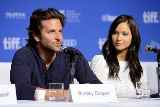 "Actors Jennifer Lawrence and Bradley Cooper had ""great chemistry"" in new film ""Silver Linings Playbook"", says director"