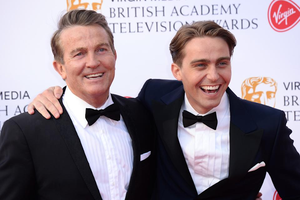 LONDON, ENGLAND - MAY 12: Bradley Walsh (L) and Barney Walsh attend the Virgin Media British Academy Television Awards 2019 at The Royal Festival Hall on May 12, 2019 in London, England. (Photo by Jeff Spicer/Getty Images)